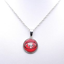 Necklace Pendant Women Necklace Children Necklace for Girl San Francisco 49er Charms Football Fans Gifts Party 1