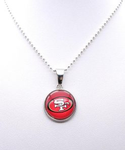 Necklace Pendant Women Necklace Children Necklace for Girl San Francisco 49er Charms Football Fans Gifts Party 2
