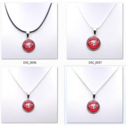 Necklace Pendant Women Necklace Children Necklace for Girl San Francisco 49er Charms Football Fans Gifts Party