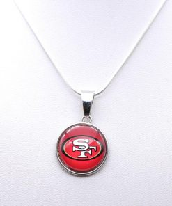 Necklace Pendant Women Necklace Children Necklace for Girl San Francisco 49er Charms Football Fans Gifts Party 3