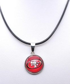 Necklace Pendant Women Necklace Children Necklace for Girl San Francisco 49er Charms Football Fans Gifts Party 4
