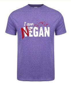 Negan lucille T Shirt Walking Dead Negan Lucille Men Fashion Design Custom Short Sleeve Valentine s 1