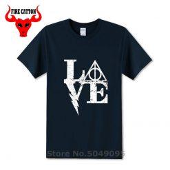 Nerd movie magic wizard t shirt vintage geek harry Love T shirt boy stranger thing tshirt 2