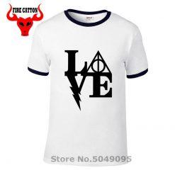 Nerd movie magic wizard t shirt vintage geek harry Love T shirt boy stranger thing tshirt 3
