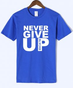 Never Give Up T shirt Salah Barcelona 4 0 Tee Fan Football T shirt Premium Quality 1