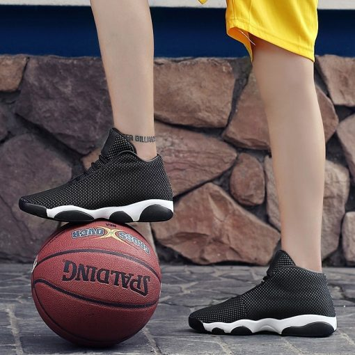 New Brand Basketball Shoes Men Women High top Sports Air Cushion Jordan Hombre Athletic Mens Shoes 4