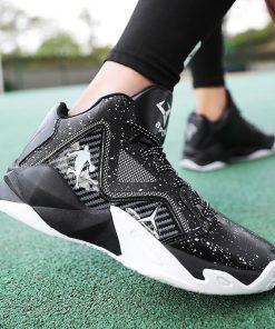 New Brand Basketball Shoes Men Women High top Sports Anti skid Jordan Shoes Athletic Sneakers Men 1