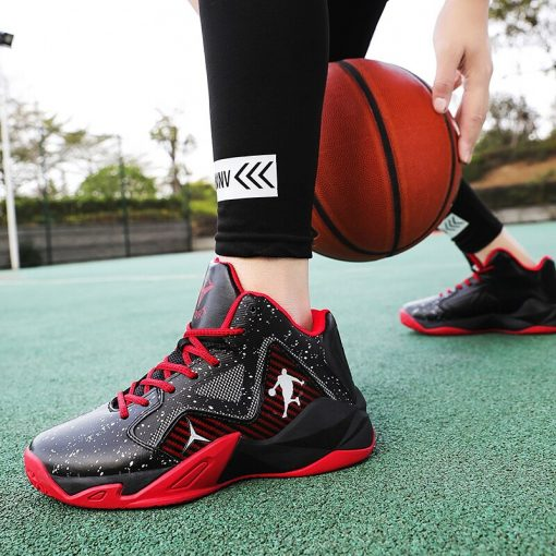 New Brand Basketball Shoes Men Women High top Sports Anti skid Jordan Shoes Athletic Sneakers Men 2