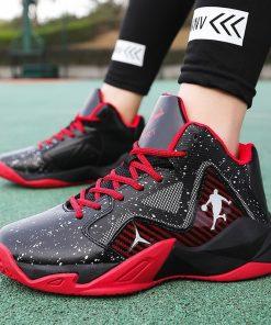 New Brand Basketball Shoes Men Women High top Sports Anti skid Jordan Shoes Athletic Sneakers Men