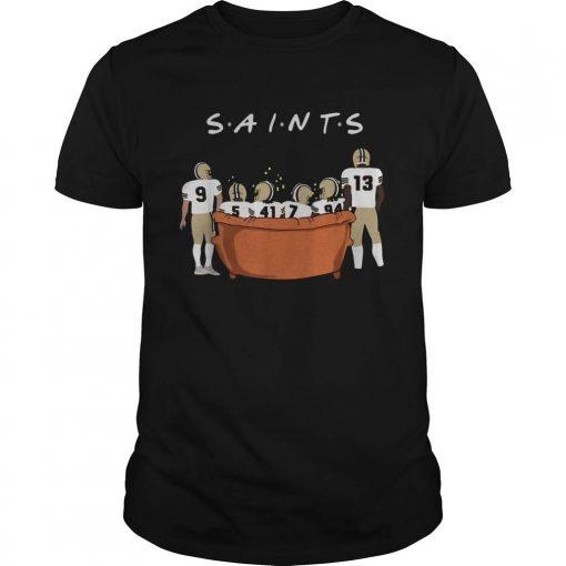 New Collection New Orleans Saints Friends TV Show shirt T Shirt For Women Men unisex men