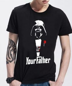 New Fashion Man Star Wars Darth Vader your father T shirt Men Casual Cotton Printed Short