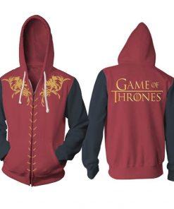 New Game of Thrones Direwolf Men Hoodies women Sweatshirts 3D Print Hooded Top Quality Plus size 2