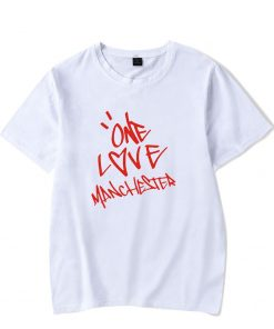 New One Love Manchester Fashion Hip Hop Men Women T Shirts Casual Tee Shirt Short Sleeve 1