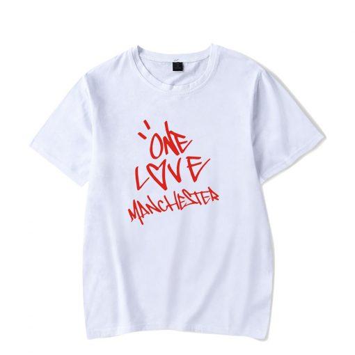 New One Love Manchester Fashion Hip Hop Men Women T Shirts Casual Tee Shirt Short Sleeve 1