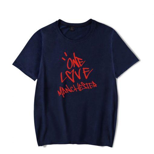New One Love Manchester Fashion Hip Hop Men Women T Shirts Casual Tee Shirt Short Sleeve 3