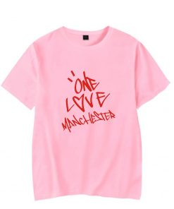 New One Love Manchester Fashion Hip Hop Men Women T Shirts Casual Tee Shirt Short Sleeve 4