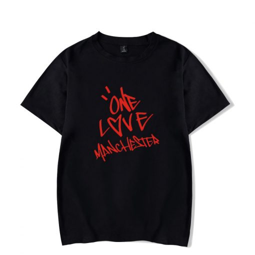 New One Love Manchester Fashion Hip Hop Men Women T Shirts Casual Tee Shirt Short Sleeve
