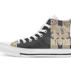 New Orleans Football Player Ginn Jr High Top Canvas Shoes Custom Walking shoes 1