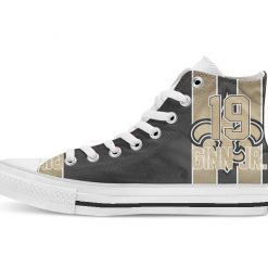 New Orleans Football Player Jordan High Top Canvas Shoes Custom Walking shoes 1