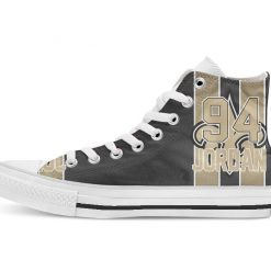 New Orleans Football Player Lattimore High Top Canvas Shoes Custom Walking shoes 1
