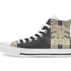 New Orleans Football Player Newhouse High Top Canvas Shoes Custom Walking shoes 1