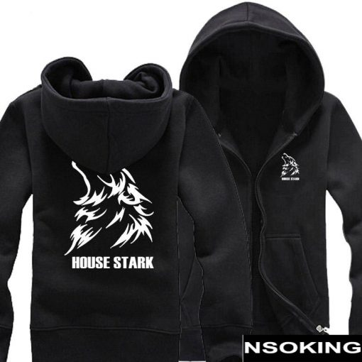 New Spring Fall Game of Thrones Hoodie Anime A Song of Ice and Fire Stark hoodied 2