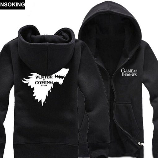 New Spring Fall Game of Thrones Hoodie Anime A Song of Ice and Fire Stark hoodied 3