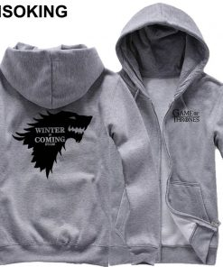 New Spring Fall Game of Thrones Hoodie Anime A Song of Ice and Fire Stark hoodied 4