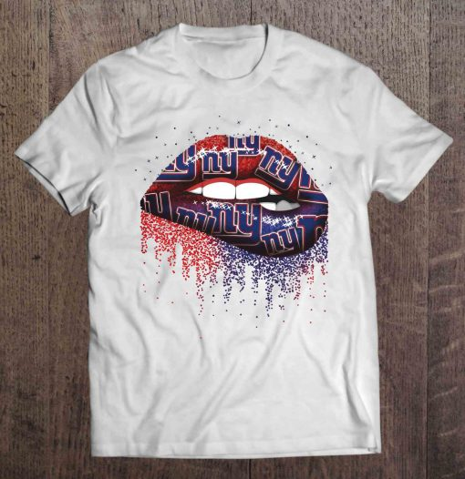 New Streetwear Harajuku York 100 Cotton Men S Tshirt Giants Lips Tshirts