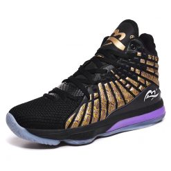 New Style Basketball Shoes Men Cushioning High Top Gym Training Boots Ankle Boots Outdoor Men Sneakers