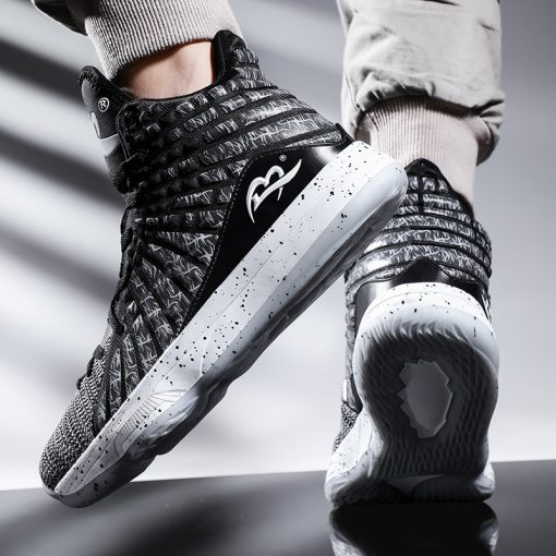 New Style Basketball Shoes Men Cushioning High Top Gym Training Boots Ankle Boots Outdoor Men Sneakers 5