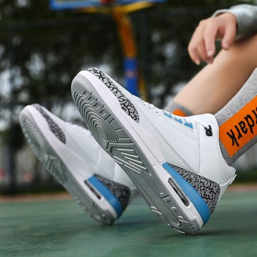 New Style Basketball Shoes Men Lightweight Outdoor Basketball Sneakers Men Cushioning Retro Jordan Ankle Boots Basket 5
