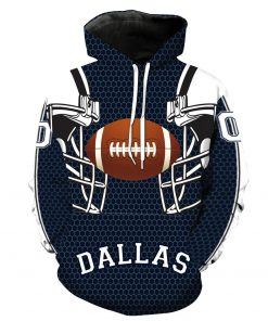 New Style Dallas Cowboy Olive Team Printed Hooded Pocket Pullover Hoody Men s Fashion Hooded Men 1