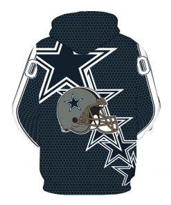 New Style Dallas Cowboy Olive Team Printed Hooded Pocket Pullover Hoody Men s Fashion Hooded Men