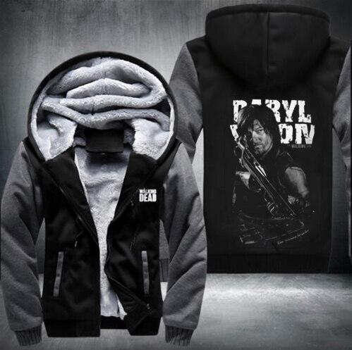 New THE WALKING DEAD Sweatshirts Hoodies Velvet Coat Hot Sale fast shi 2
