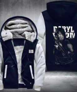 New THE WALKING DEAD Sweatshirts Hoodies Velvet Coat Hot Sale fast shi 4