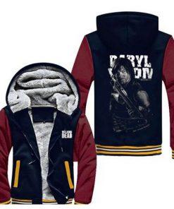 New THE WALKING DEAD Sweatshirts Hoodies Velvet Coat Hot Sale fast shi 5