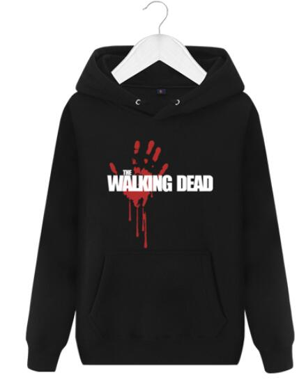 New The walking dead Hoodie Fear the living Hooded Men Casual cotton Fall Winter warm Sweatshirts 1