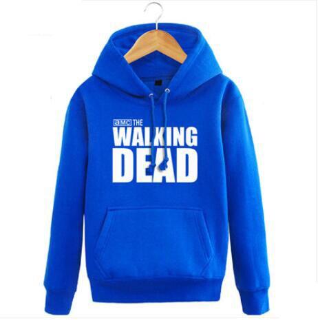 New The walking dead Hoodie Fear the living Hooded Men Casual cotton Fall Winter warm Sweatshirts 3