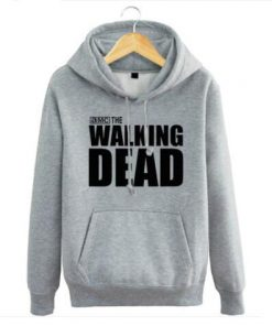 New The walking dead Hoodie Fear the living Hooded Men Casual cotton Fall Winter warm Sweatshirts 4