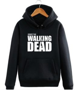 New The walking dead Hoodie Fear the living Hooded Men Casual cotton Fall Winter warm Sweatshirts 5