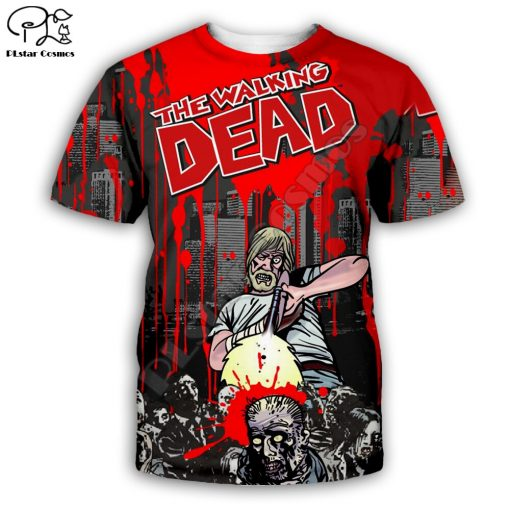 Newest Hot sell TV Drama The Walking Dead Men Women Sweatshirt 3D Print Hoodie Long Sleeve 2