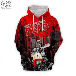 Newest Hot sell TV Drama The Walking Dead Men Women Sweatshirt 3D Print Hoodie Long Sleeve