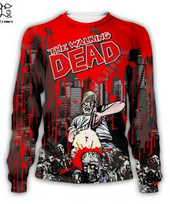 Newest Hot sell TV Drama The Walking Dead Men Women Sweatshirt 3D Print Hoodie Long Sleeve 4
