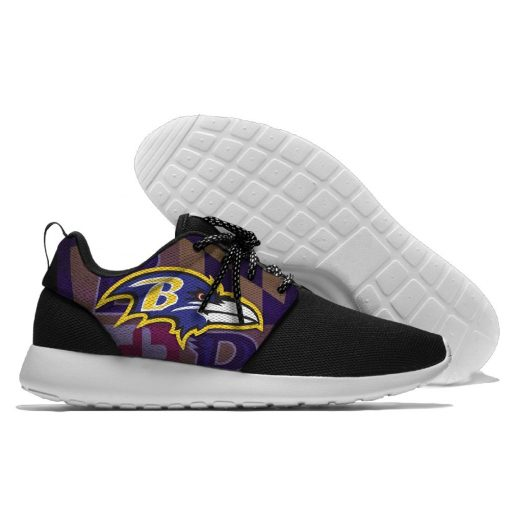 Novelty design Running Shoes Walking Shoes Football Baltimore BR Summer Comfortable light weight shoes 2