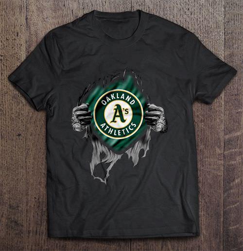 Oakland Harajuku Men S Tshirt Athletics Heart Major Harajuku League Men S Tshirt Hip Hop Baseball
