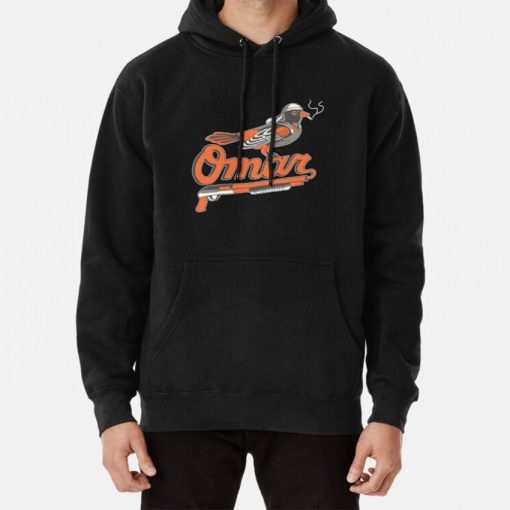 Omar The Wire Baltimore Oriole Hoodie