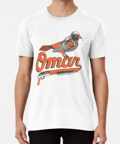 Omar The Wire Baltimore Oriole T Shirt T shirt omar the wire baltimore oriole t shirt