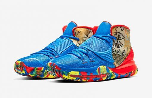 Original Authentic Men Kyries 6 Pre Heat Designer Sneaker Kyries 6 NYC Miami Houston Heal The 1