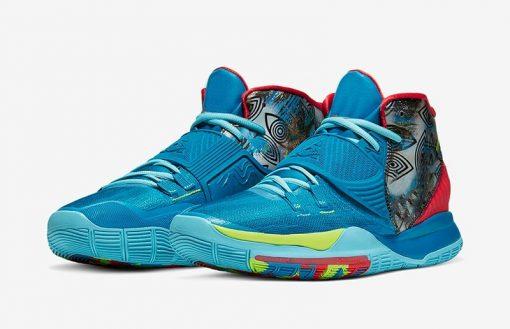 Original Authentic Men Kyries 6 Pre Heat Designer Sneaker Kyries 6 NYC Miami Houston Heal The 3